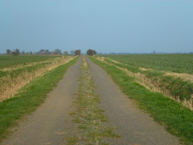Whipchicken Road near Crowland