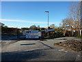 SJ8192 : A rash of signs at Hardy Farm, Chorlton by Phil Champion
