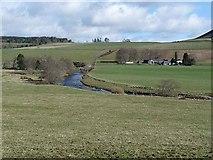 NO2454 : Blackdyke Farm, Glen Isla by Oliver Dixon