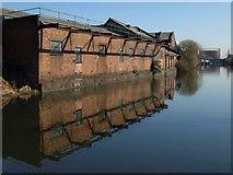 TQ2282 : Canalside buildings, Grand Union Canal by Derek Harper