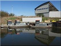 TQ2182 : Powerday, Old Oak Sidings by Derek Harper