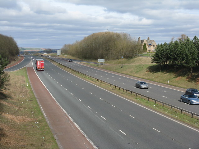 The M6 at Junction 41