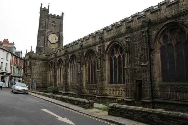 St Mary Magdalene's church, Launceston