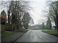 SU9991 : Narcot Lane approaching the College by John Firth