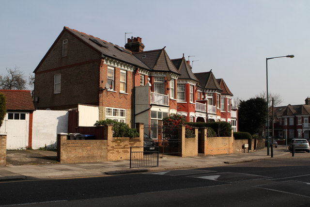 Houses Beside Aberdeen Road