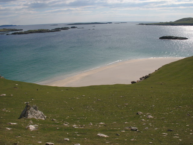 Secluded beach on Sth West Inishbofin