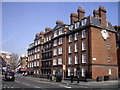 TQ2979 : Block A Peabody Estate Horseferry Road, London by PAUL FARMER