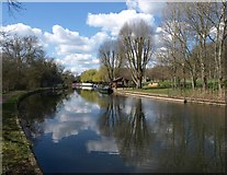 TQ1683 : Grand Union Canal near Perivale by Derek Harper