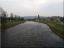 NT2540 : River Tweed at Peebles by Euan Nelson