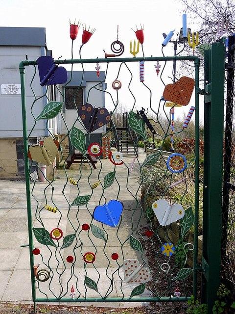 Ornamental gate, Benwell Nature Park