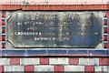 SJ6495 : Datestone on Former Chapel by David Dixon