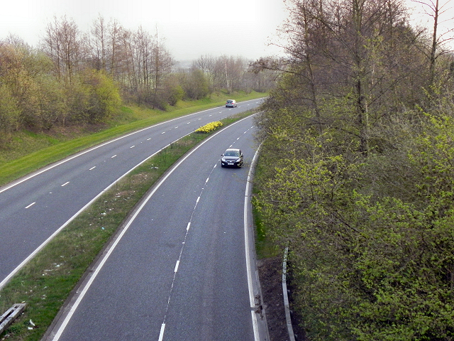 The Winwick Link Road (A49)