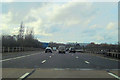 SU4515 : M27 west crossing the river Itchen by John Firth