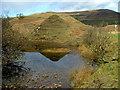NG4163 : Reflection in Lochan beag Rhugh by Dave Fergusson