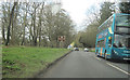 SP8012 : A418 west passing Park Villa by John Firth