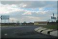 SP7209 : Haddenham roundabout on A418 by John Firth