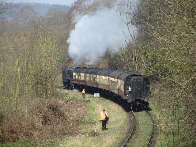 Severn Valley Railway near Bewdley