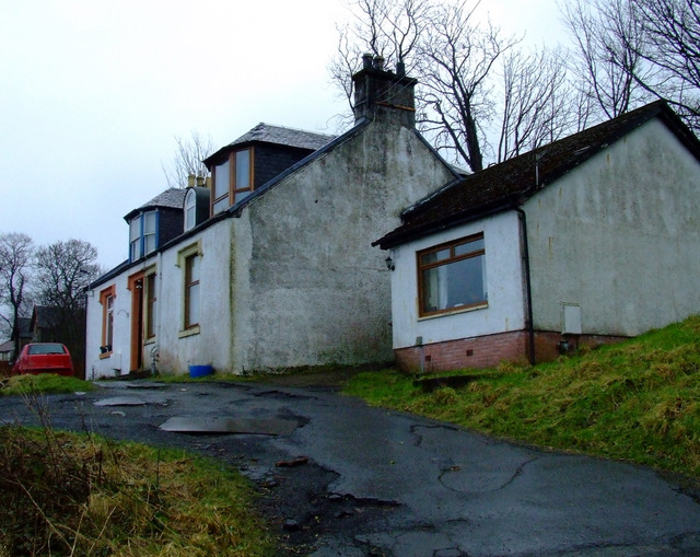 Cottage off Clune Brae