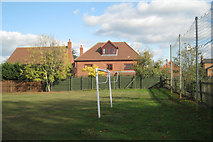 SP4476 : Kickabout behind Townsend Close by Robin Stott