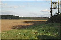 SP4476 : Field by King's Newnham Road by Robin Stott