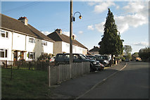 SP4476 : Former council houses, King's Newnham Road by Robin Stott