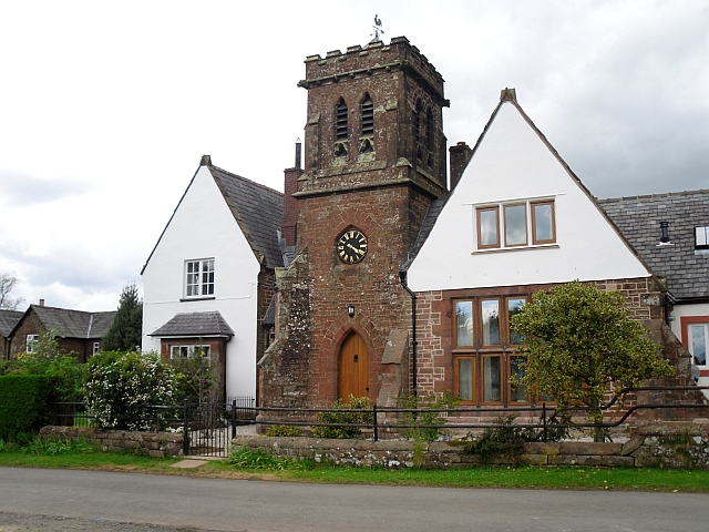 House with a clock tower