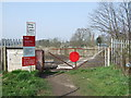 SJ5687 : Gated level crossing, Penketh by JThomas