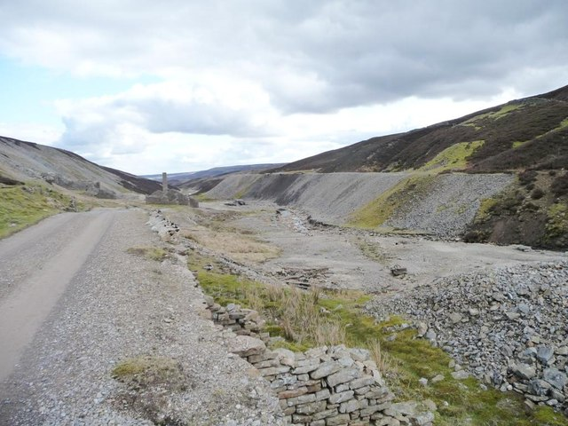 The site of Old Gang Smelting Mill