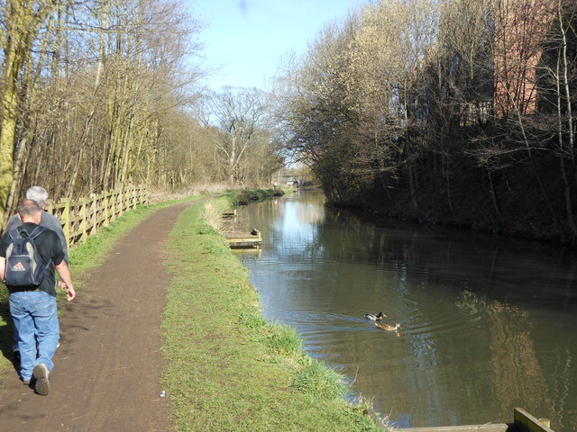The Cuckoo Way near Tapton Lock Hill