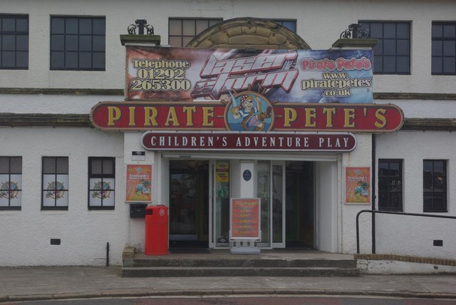 Pirate Pete S 169 Stephen Mckay Geograph Britain And Ireland