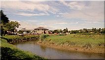 S8513 : The Owenduff River, Wellingtonbridge by Albert Bridge
