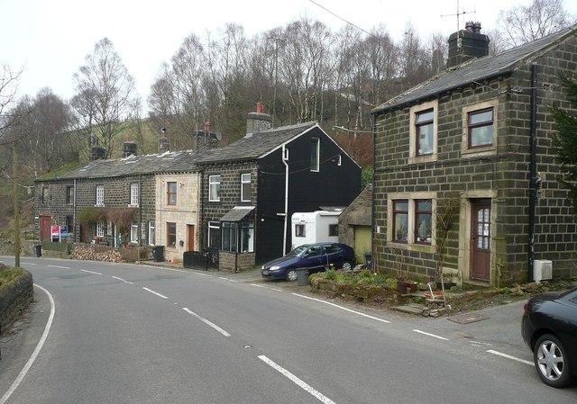 Houses at Littlewood, Blackstone Edge Road