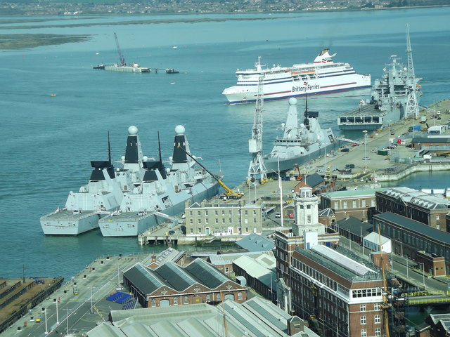 Ship A Car >> Portsmouth Naval Base © Colin Smith :: Geograph Britain ...