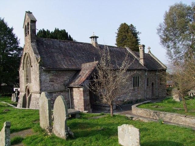 St Faith Church, Llanfoist