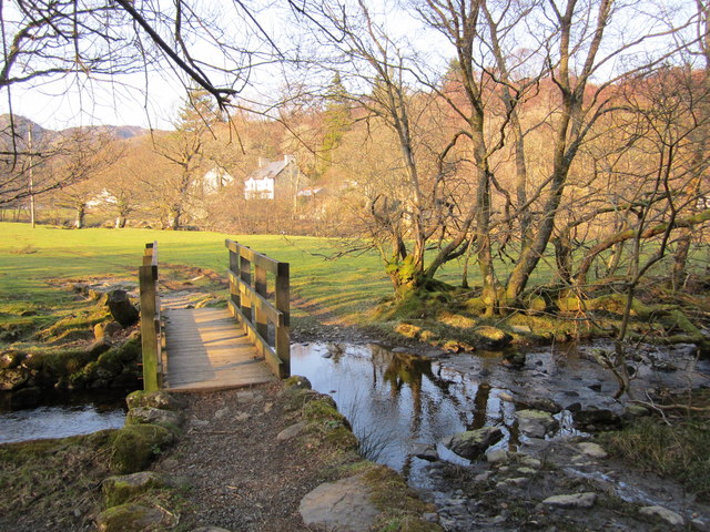 Footpath bridge and Ford