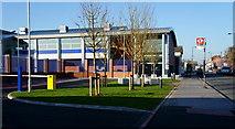 TQ3266 : Metropolitan Police Custody Centre, Windmill Road, Croydon by Peter Trimming