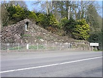 W9599 : Grotto, outside Ballyduff by Hywel Williams