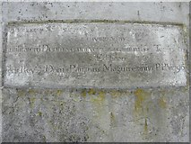 H2117 : Plaque, Holy Trinity Church by Kenneth  Allen