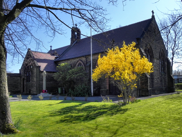 Parish Church of St James and St Elizabeth, Bickershaw
