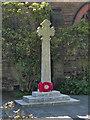 SD6301 : War Memorial, Bickershaw Parish Church by David Dixon