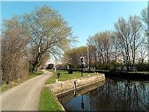 SE4326 : Bulholme Lock Castleford by derek dye