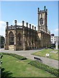 SJ3589 : St Luke, St Luke's Place, Liverpool by Stephen Richards