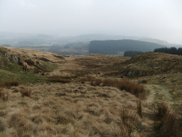 On the slopes of Garw Fynydd