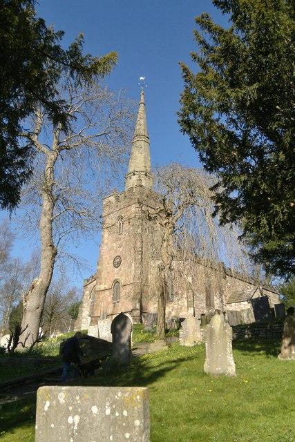 St James church, Bonsall