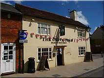 SU3521 : Romsey - The Olive Tree by Chris Talbot