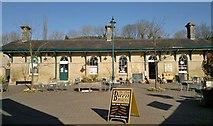 SK2566 : Original Rowsley railway station, now within Peak Village retail park by Chris Morgan