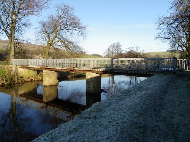 Bridge over the River Hodder - Thorneyholme