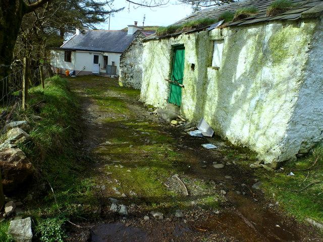 Kilrean - byre and cottage complex