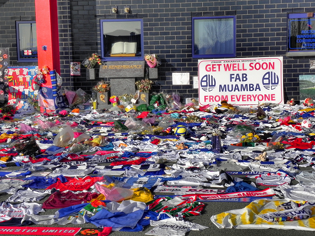 Fans' Get-Well Messages for Fabrice Muamba