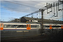 TQ2282 : Carriages at Willesden Junction by N Chadwick